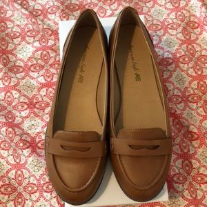 Coin piece loafers